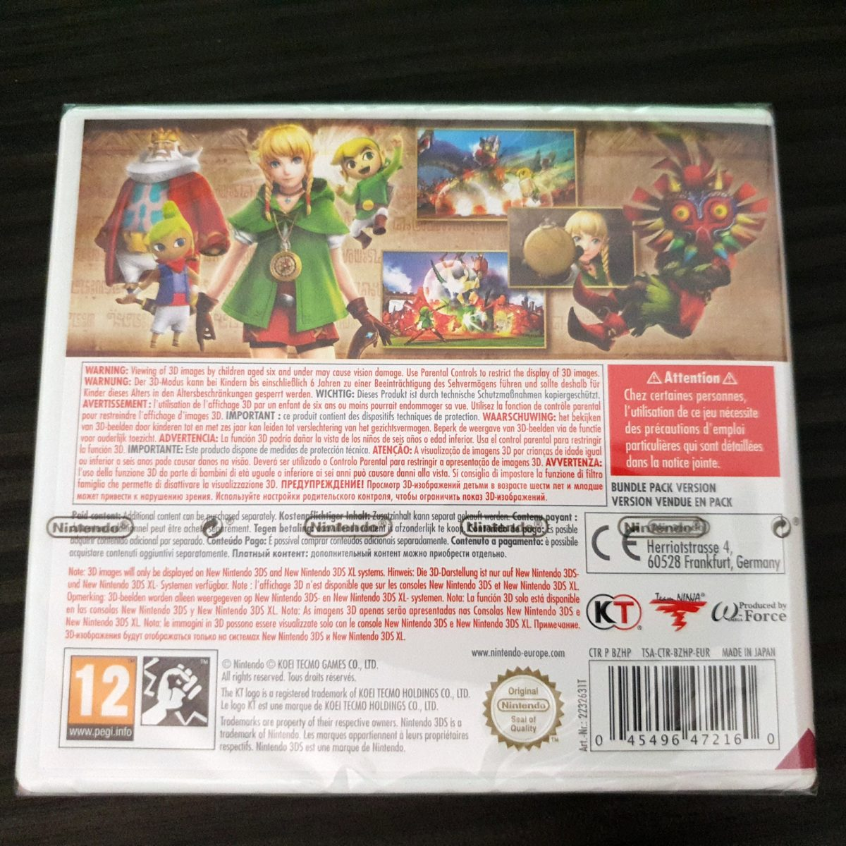 Hyrule Warriors 3DS Europe (1)