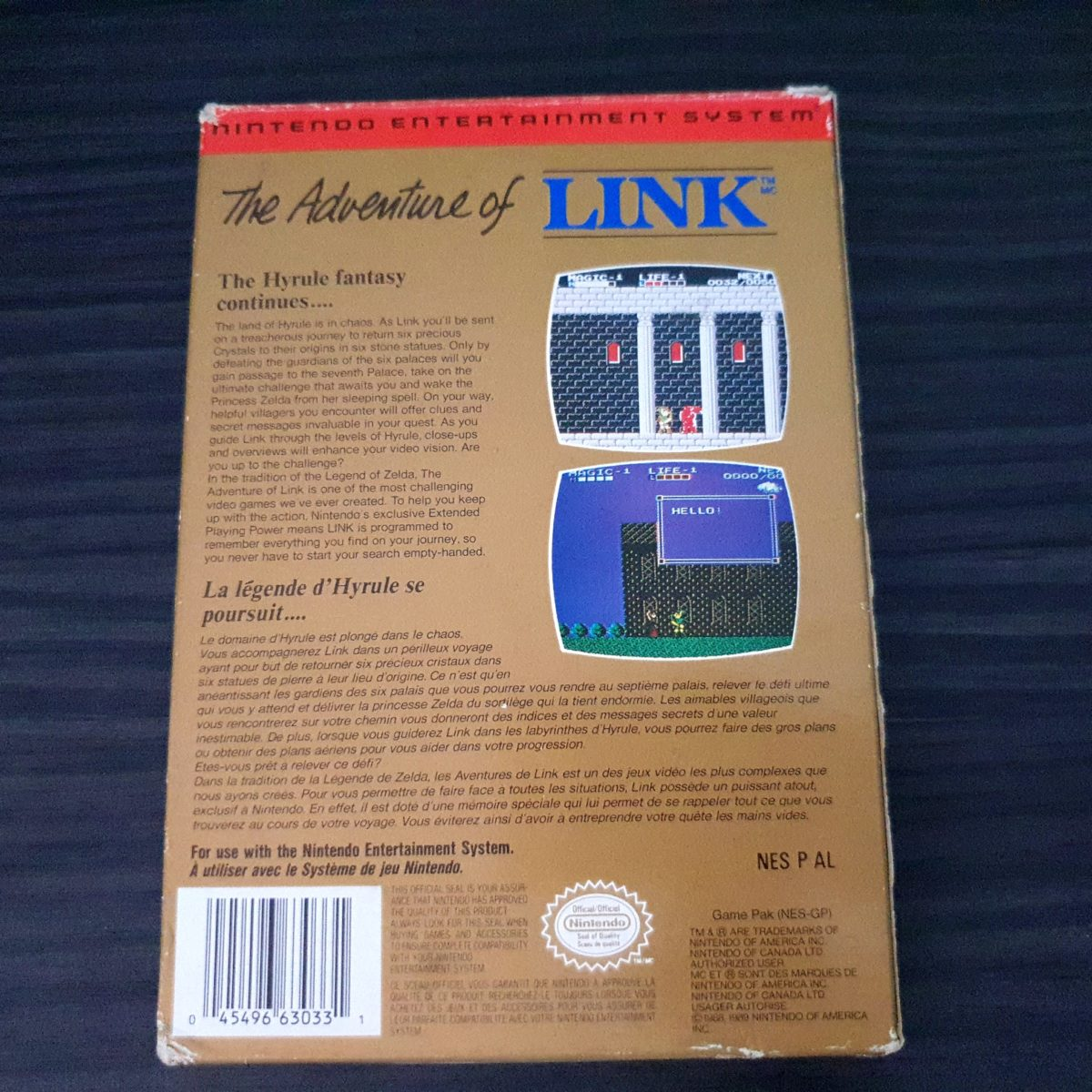 The Adventure of Link NES Canada 1 (6)