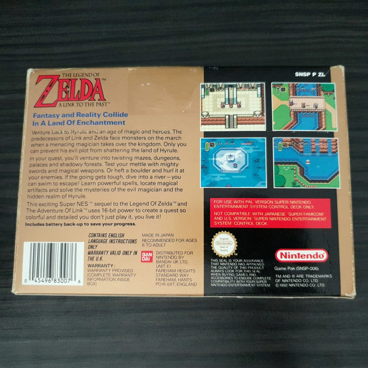 The Legend of Zelda A Link to The Past – ZeldaCollection com
