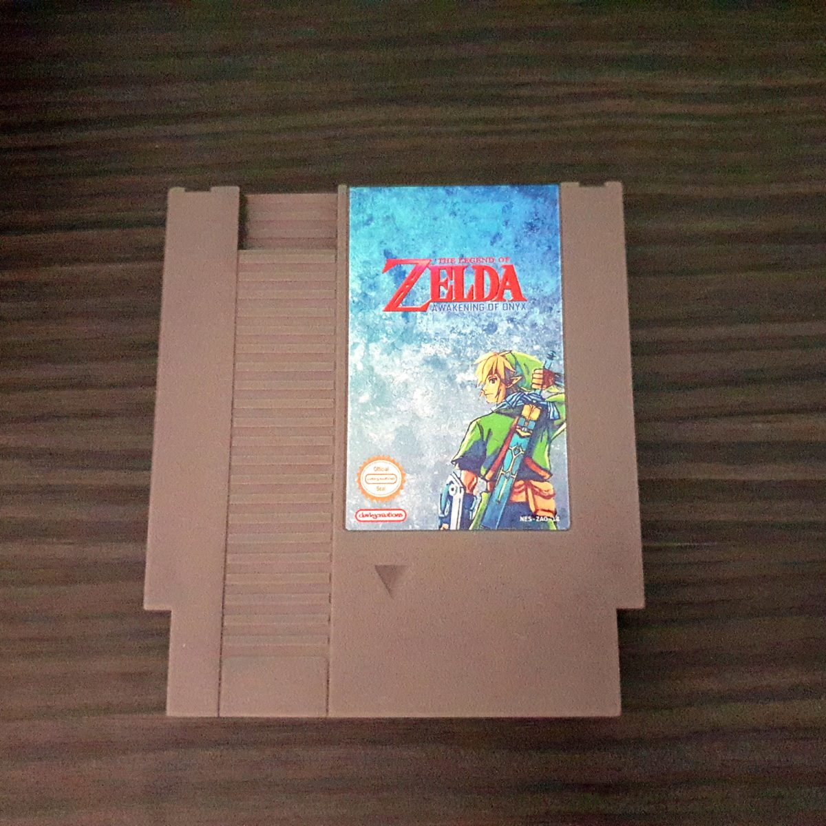 The Legend of Zelda Awakening of Onyx NES ClarkyCreations