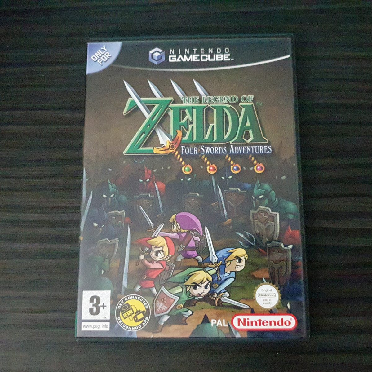 The Legend of Zelda Four Swords Adventures UK