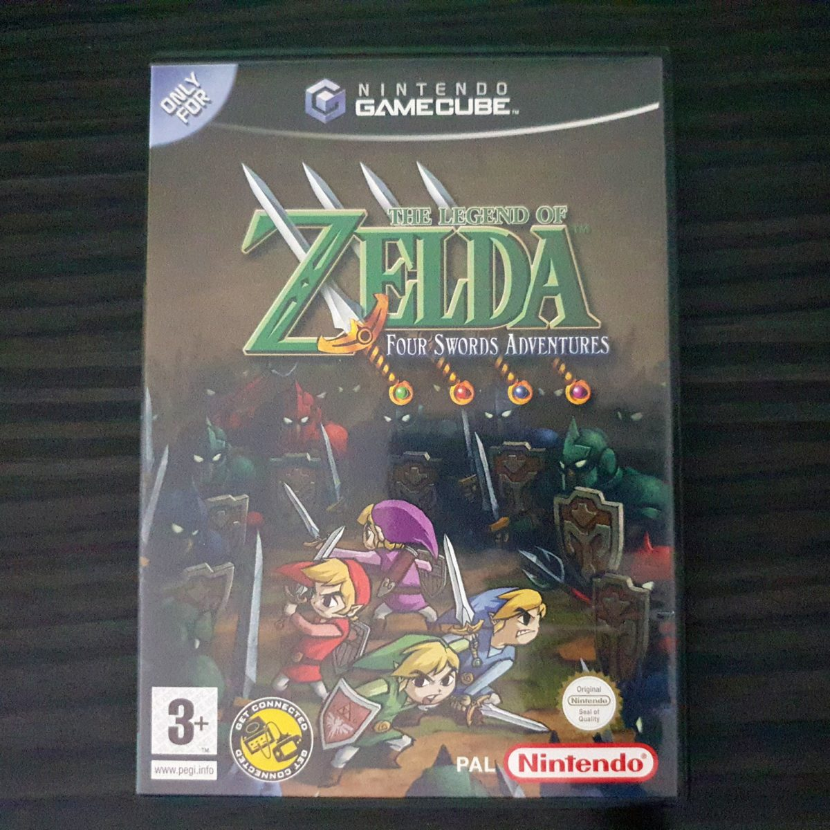 The Legend of Zelda Four Swords Adventures UK (4)