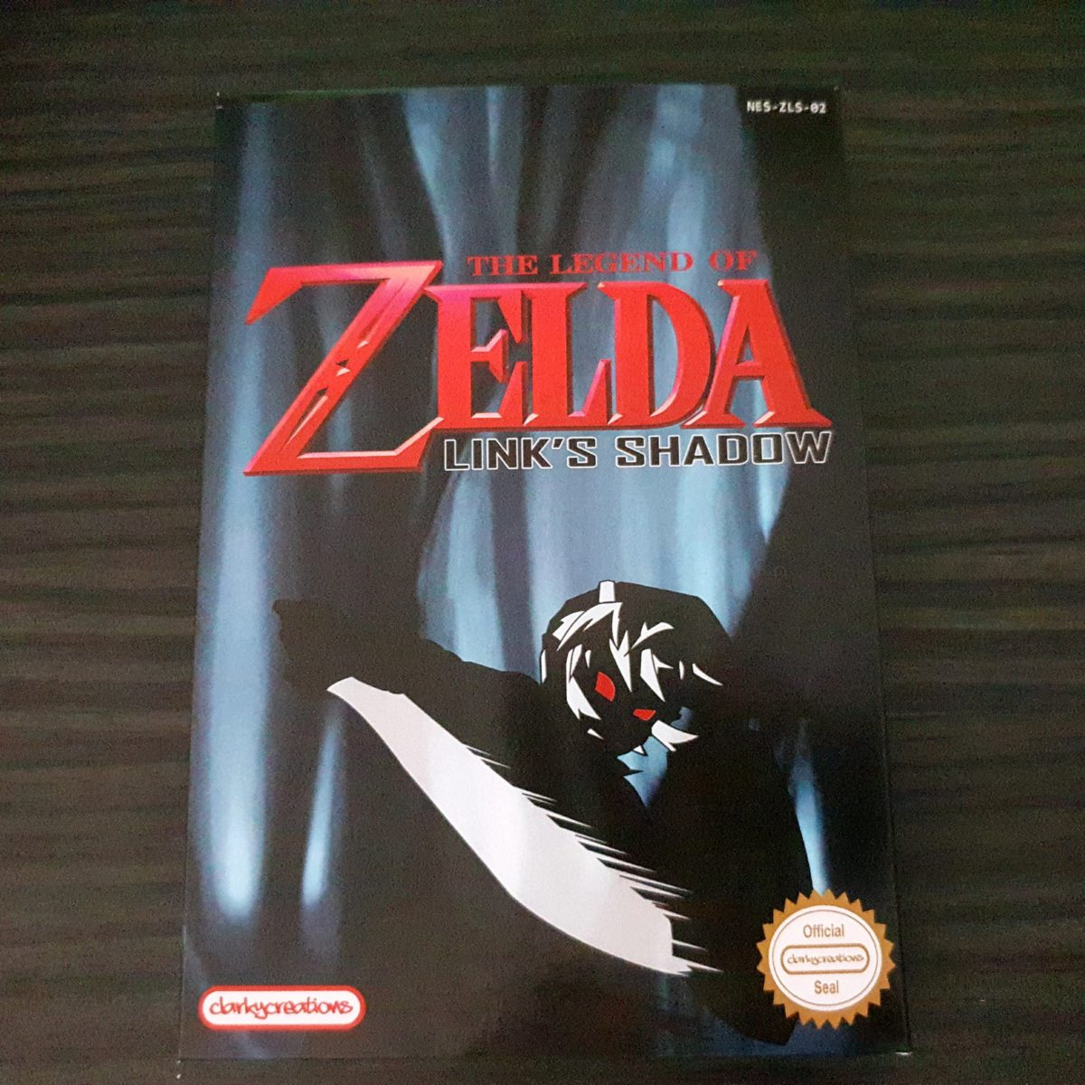 The Legend of Zelda Links Shadow NES ClarkyCreations