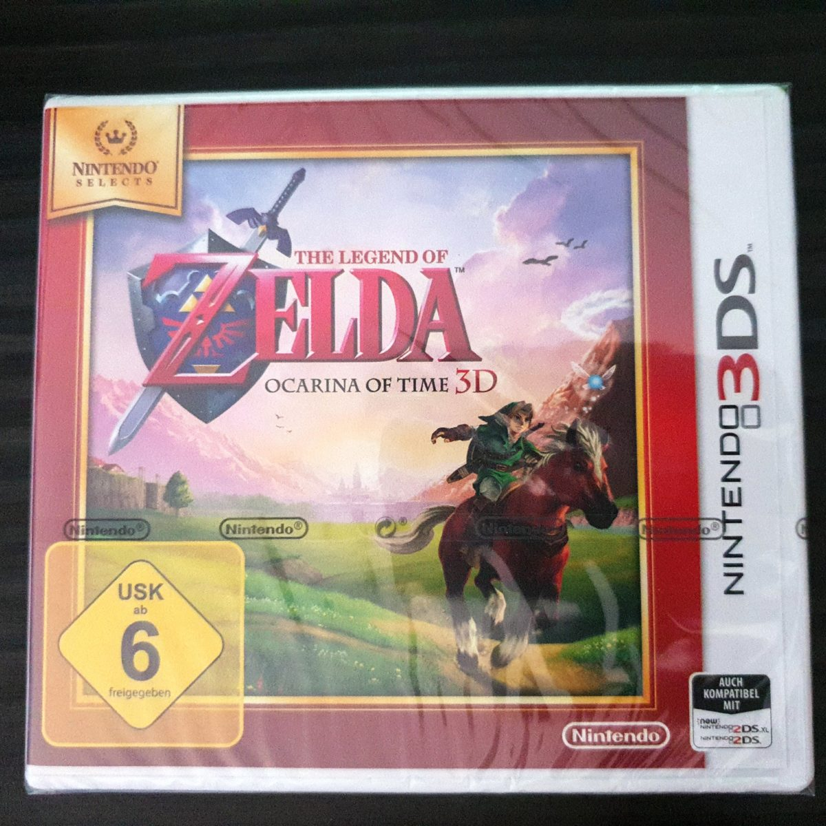 The Legend of Zelda Ocarina of Time 3DS Selects Germany (1)