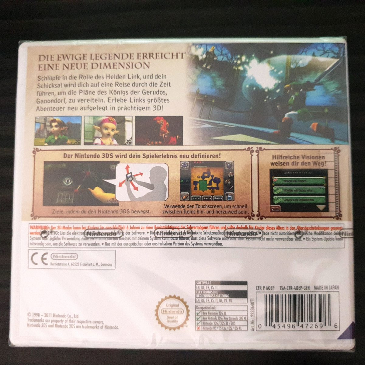 The Legend of Zelda Ocarina of Time 3DS Selects Germany (2)
