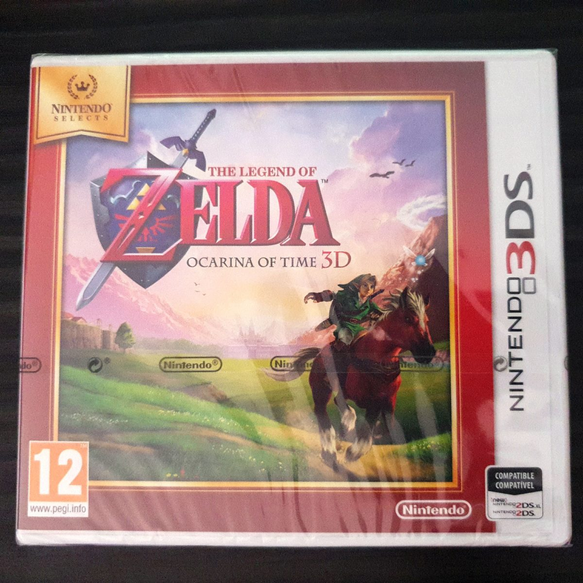 The Legend of Zelda Ocarina of Time 3DS Selects Spain (1)