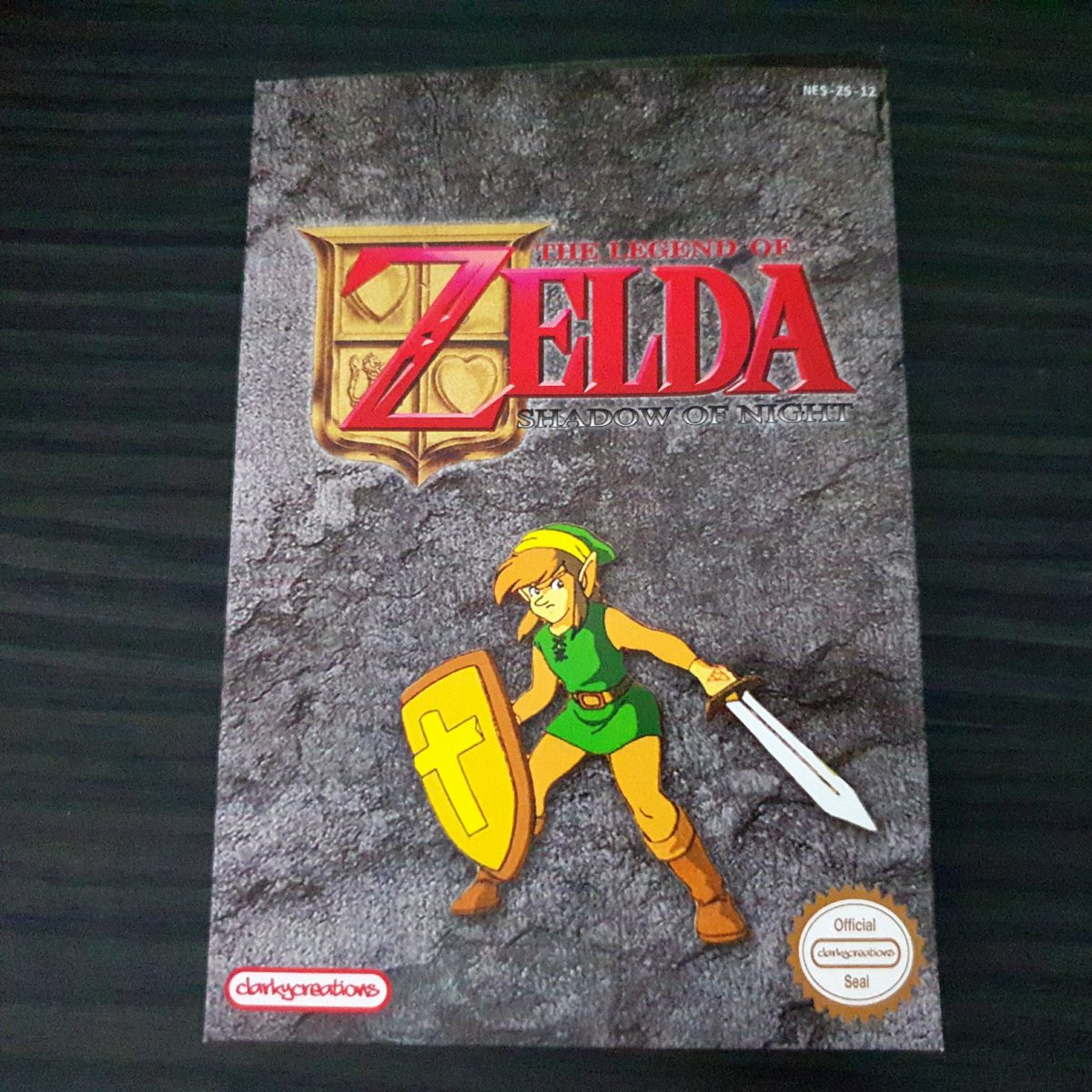 The Legend of Zelda Shadow of Night NES ClarkyCreations