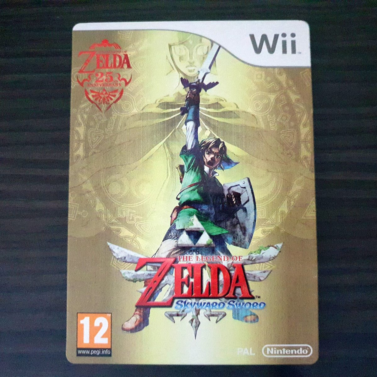 The Legend of Zelda Skywar Sword France SteelBook (1)