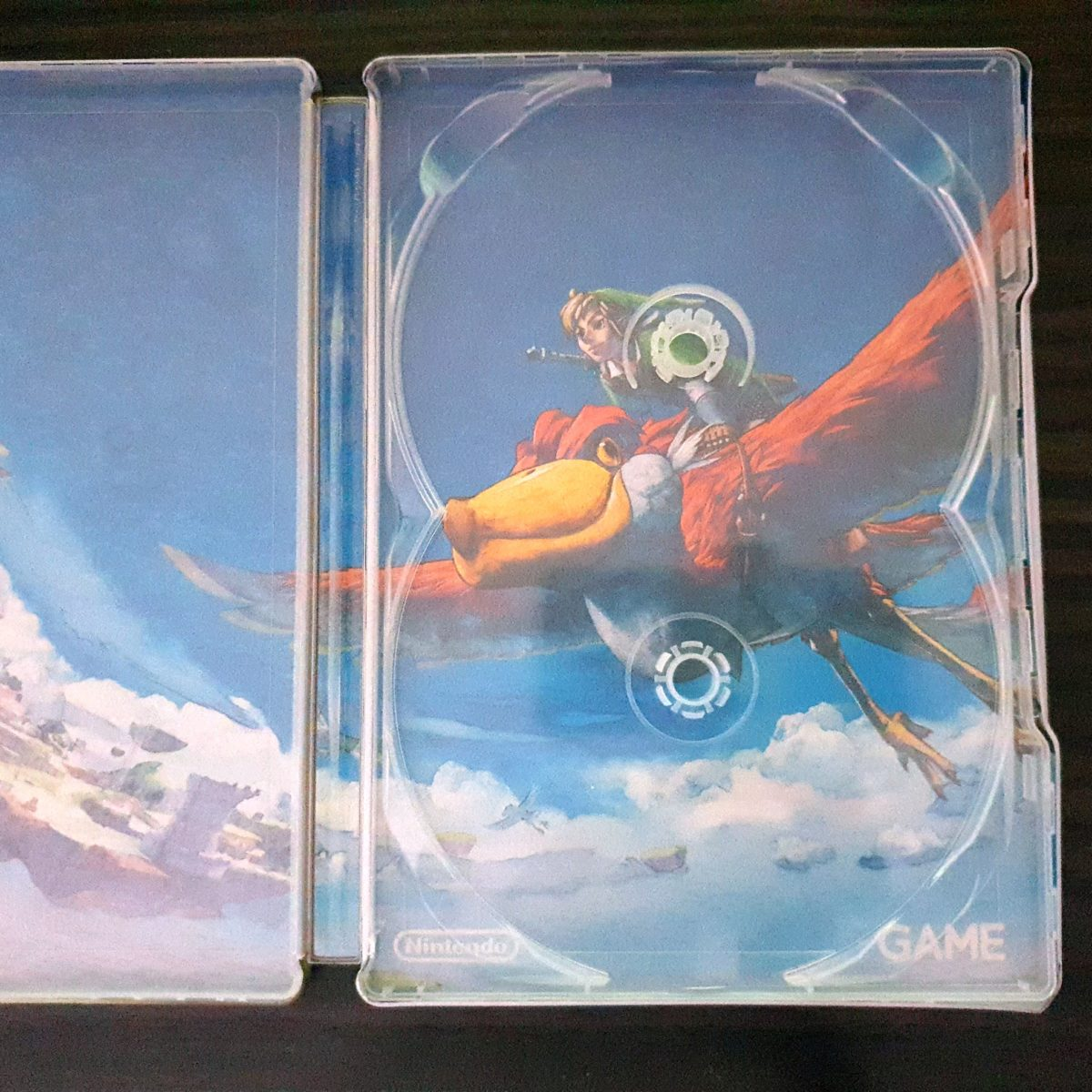 The Legend of Zelda Skywar Sword France SteelBook (3)