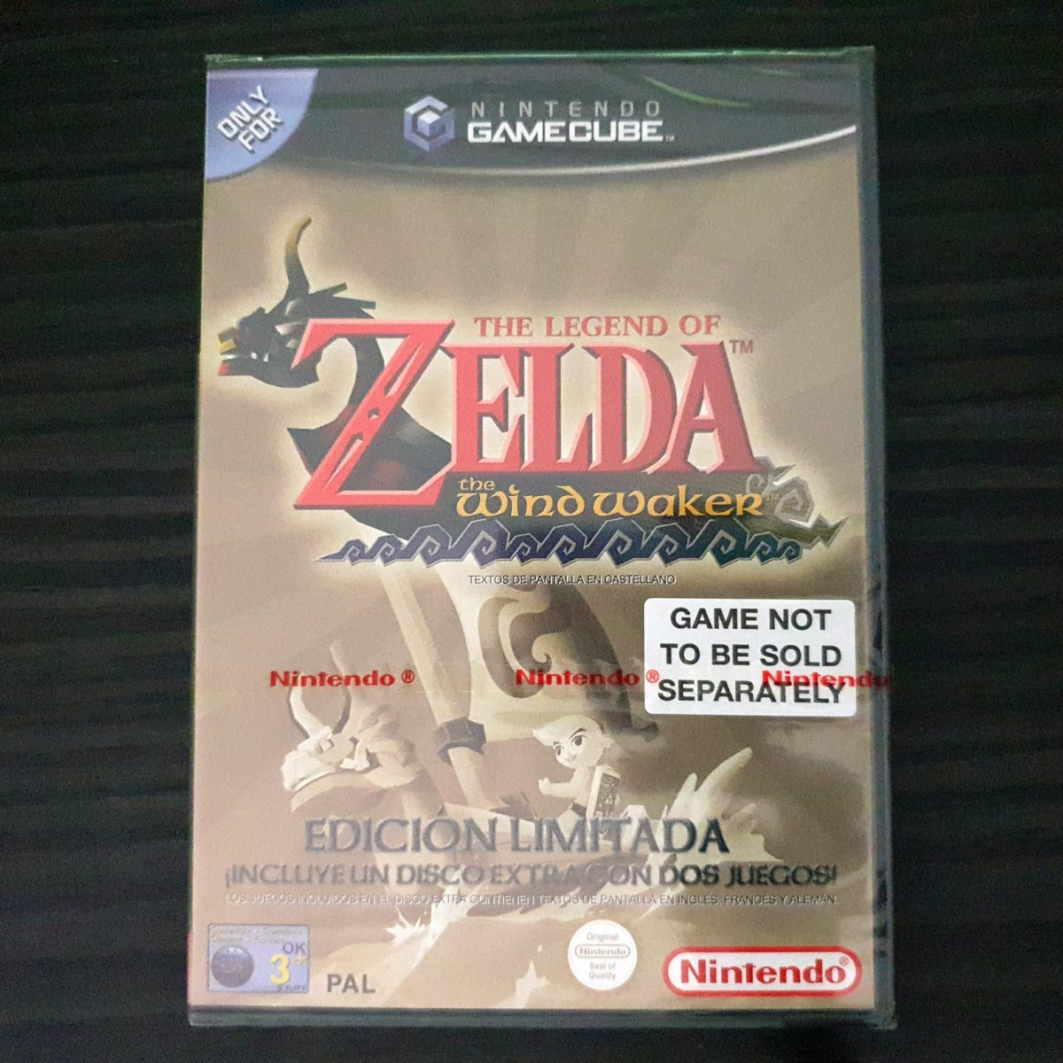 The Legend of Zelda The Wind Waker Spain Liomited Sealed (2)