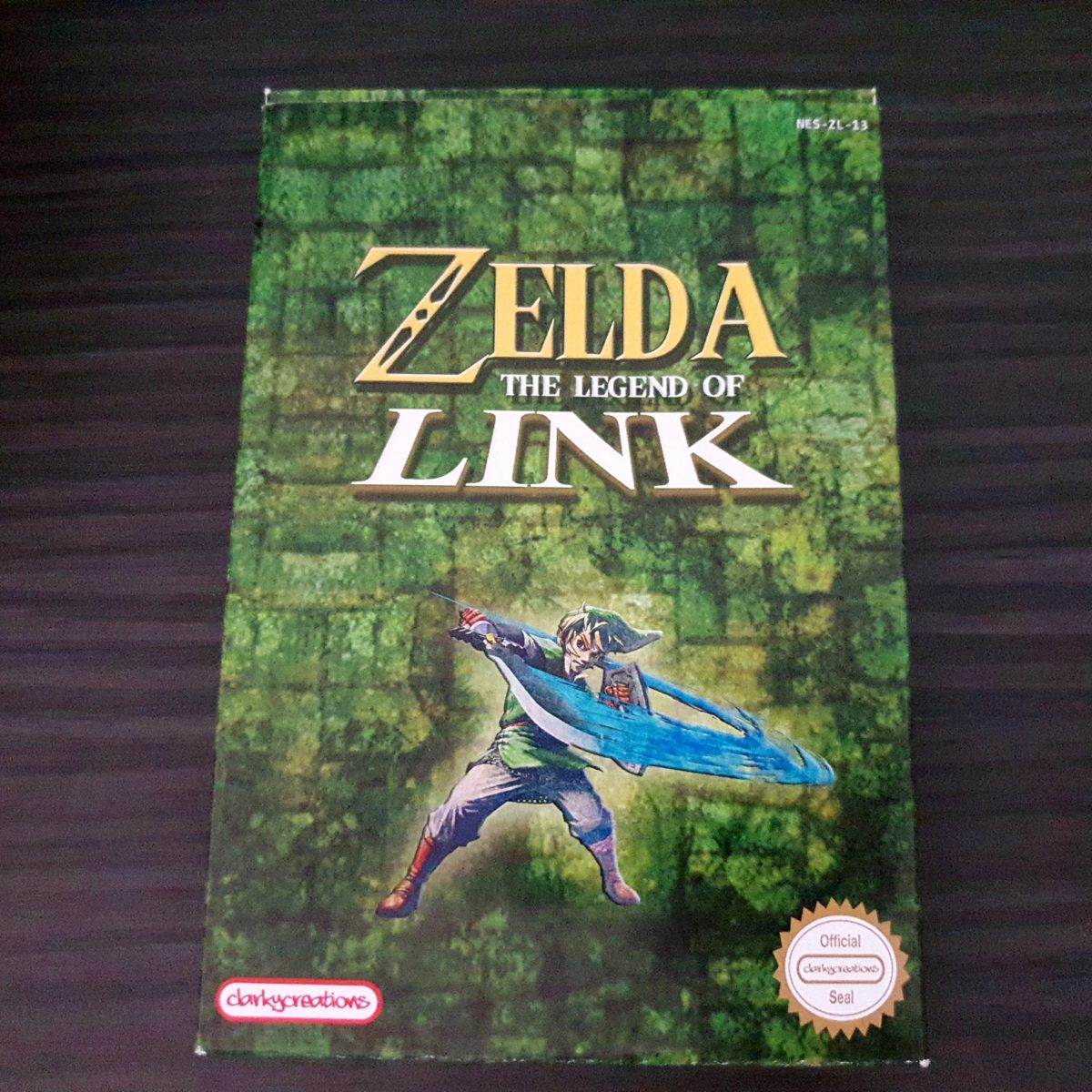 Zelda The LEgend of Link NES ClarkyCreations