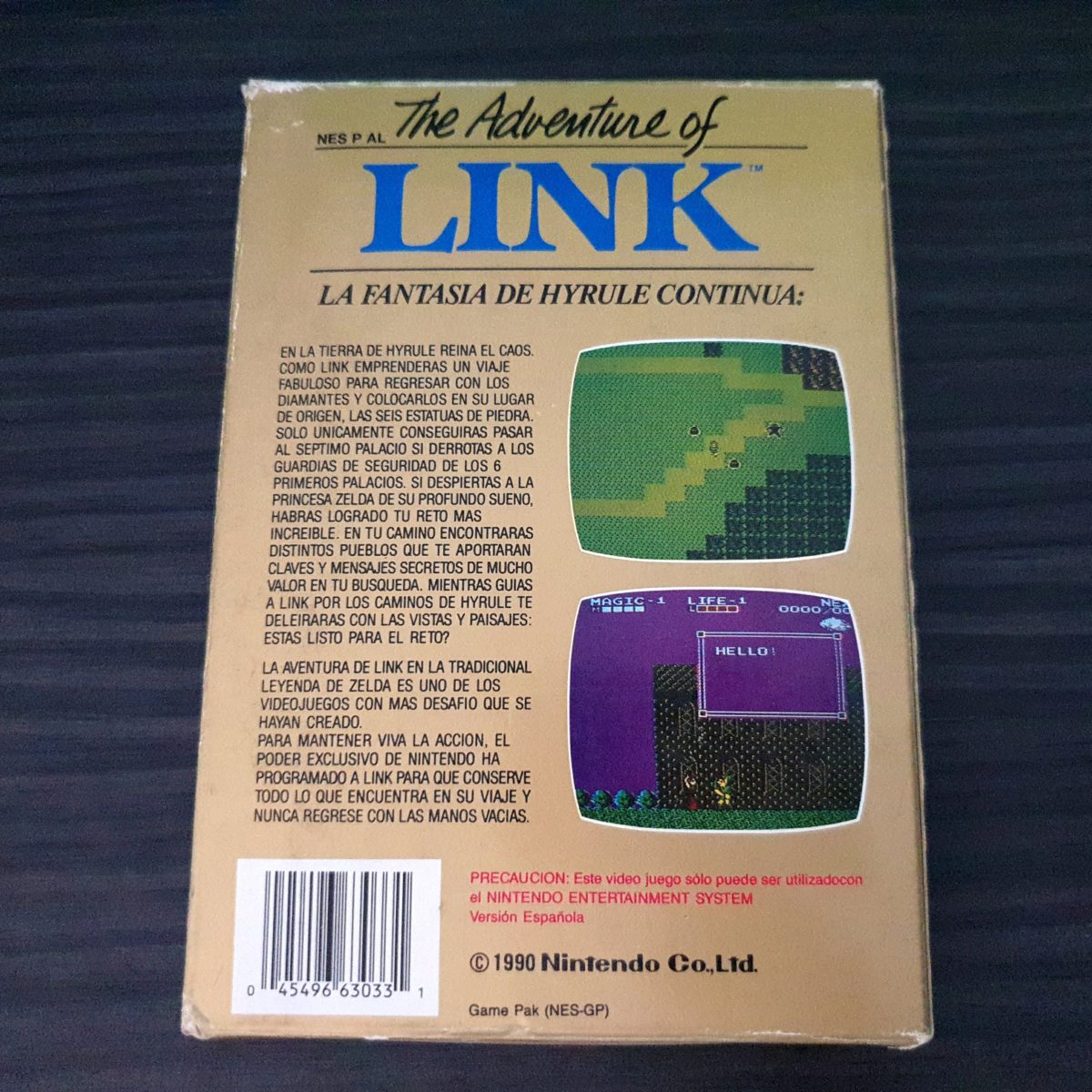 the Adventure of Link NES Spain Spaco (1)