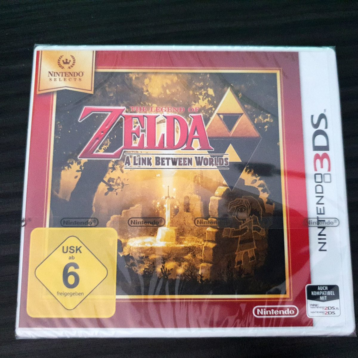 The Legend of Zelda A Link Between Worlds Selects Germany