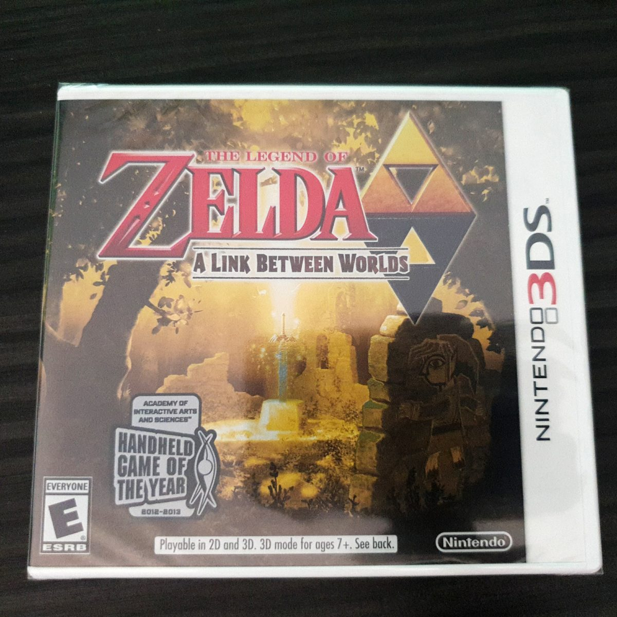 The Legend of Zelda A Link Between Worlds USA Players Choice Sealed