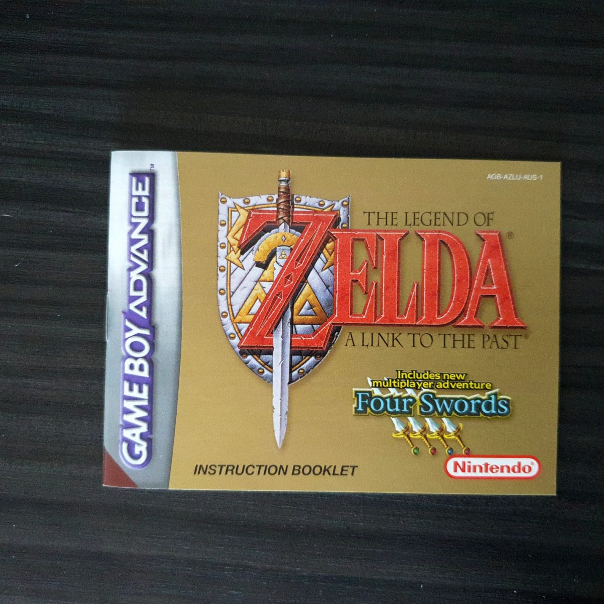 The Legend of Zelda A Link To The Past + Four Swords Australia GBA