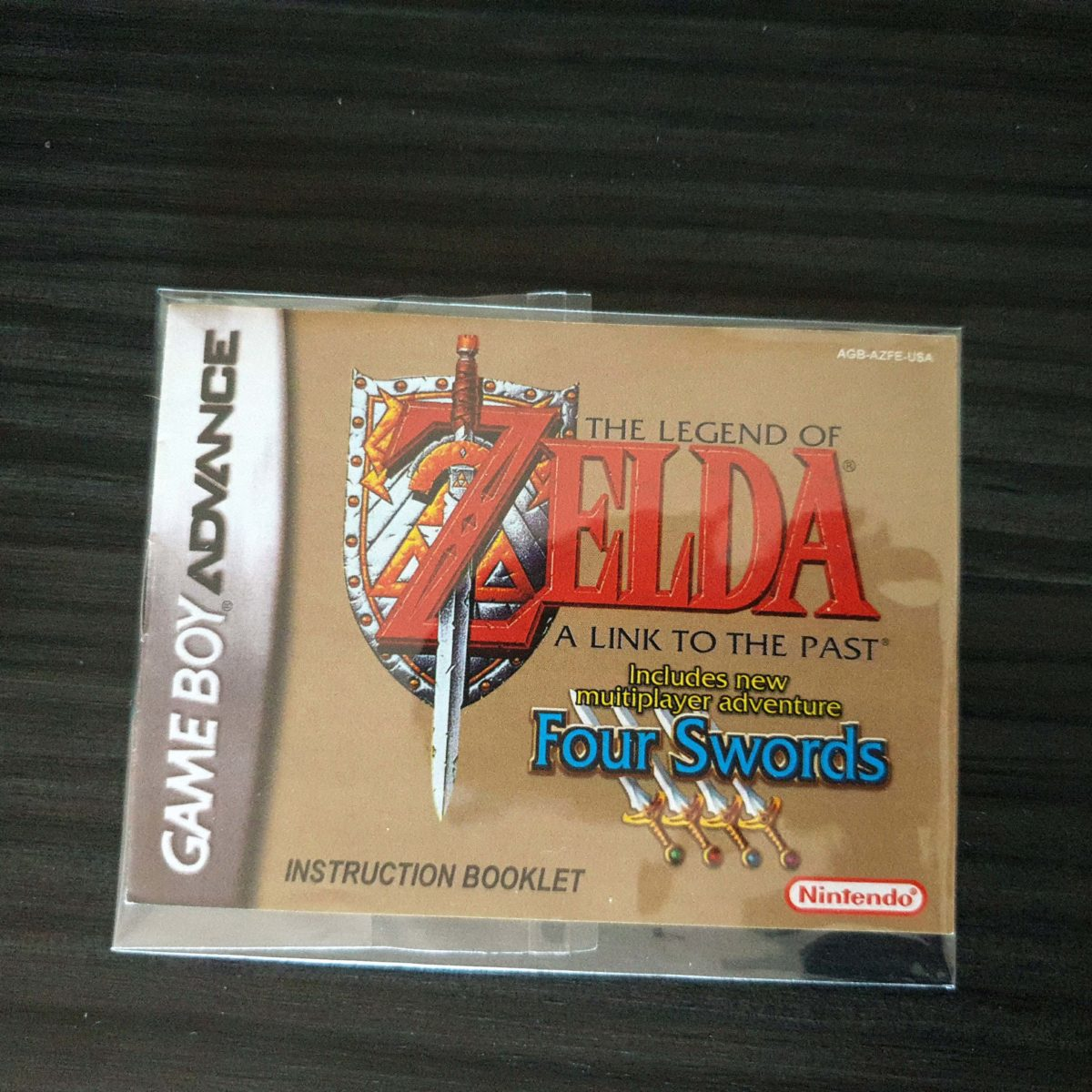The Legend of Zelda A Link To The Past + Four Swords Pirate GBA