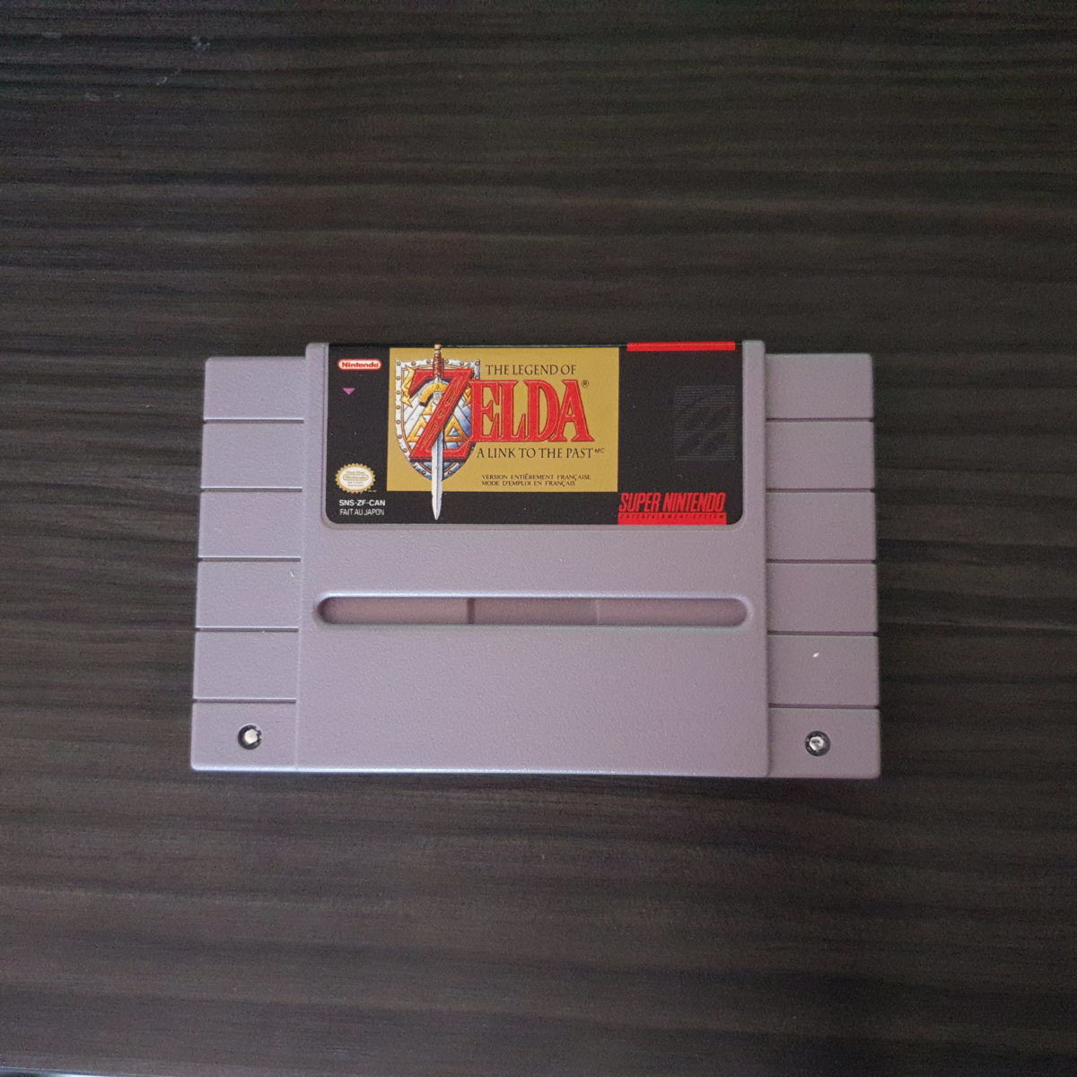The Legend of Zelda A Link To The Past SNES Canada Frist Version (10)