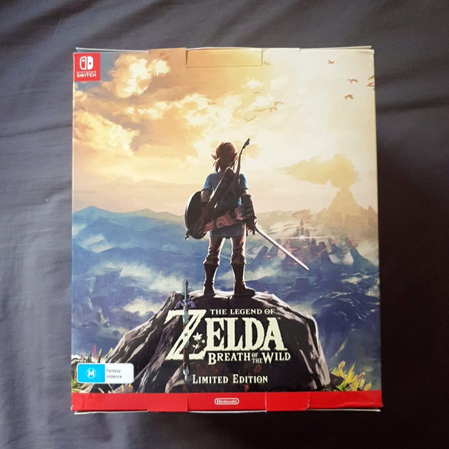 The Legend of Zelda Breath of The Wild Australia Limited Edition