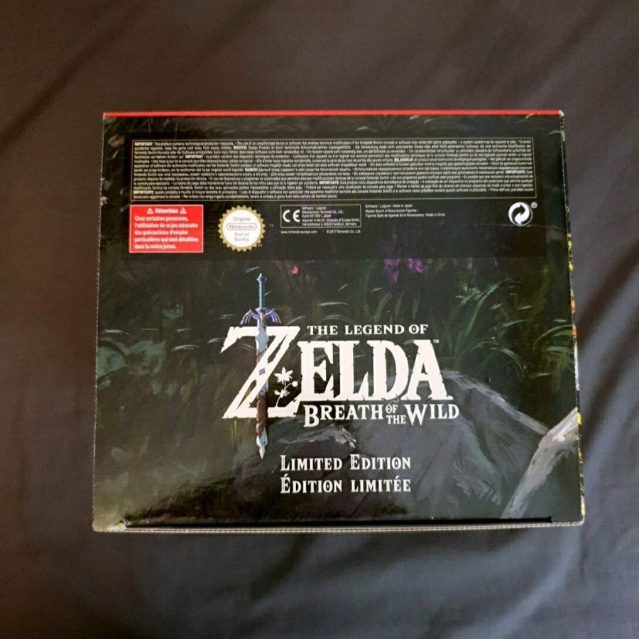 The Legend of Zelda Breath of The Wild Europe Limited Edition