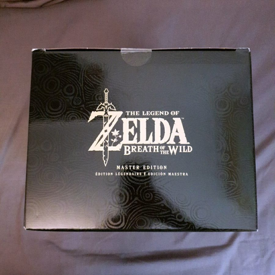 The Legend of Zelda Breath of The Wild Nintendo Switch Master Edition