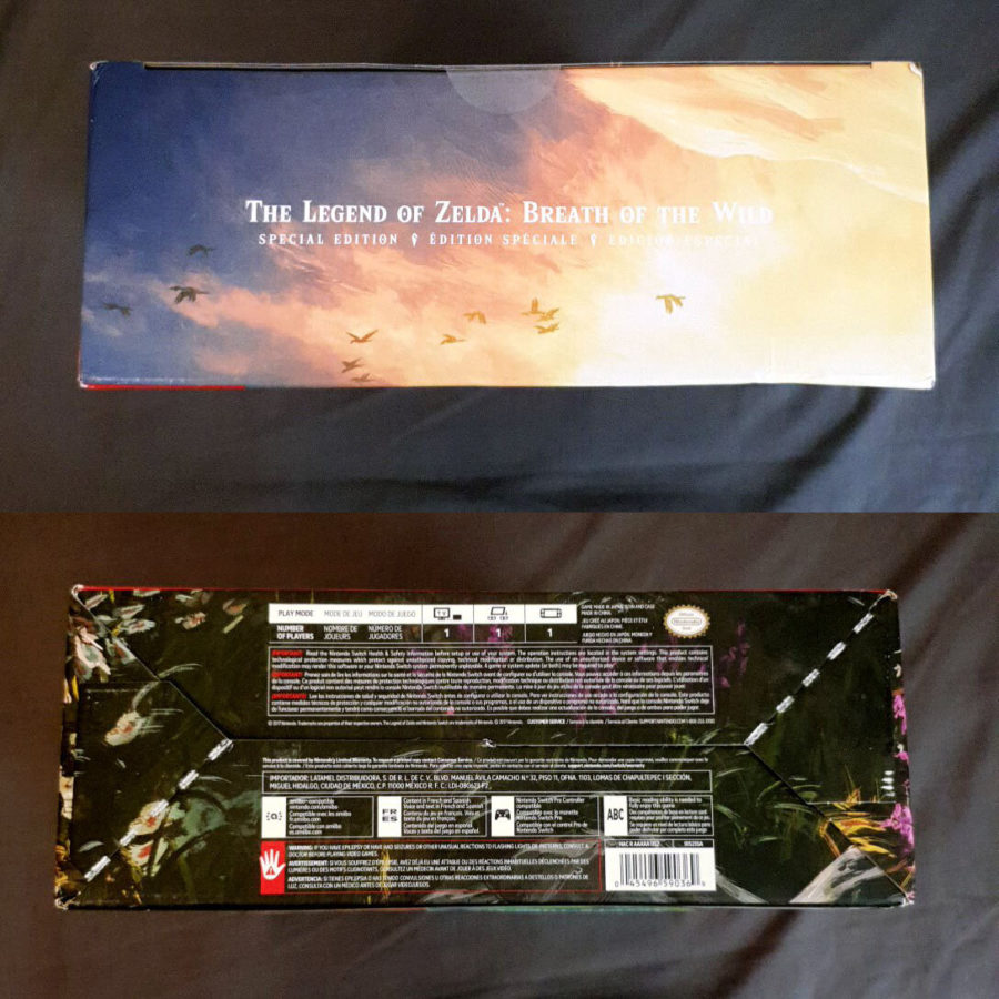 The Legend of Zelda Breath of The Wild Special Edition USA