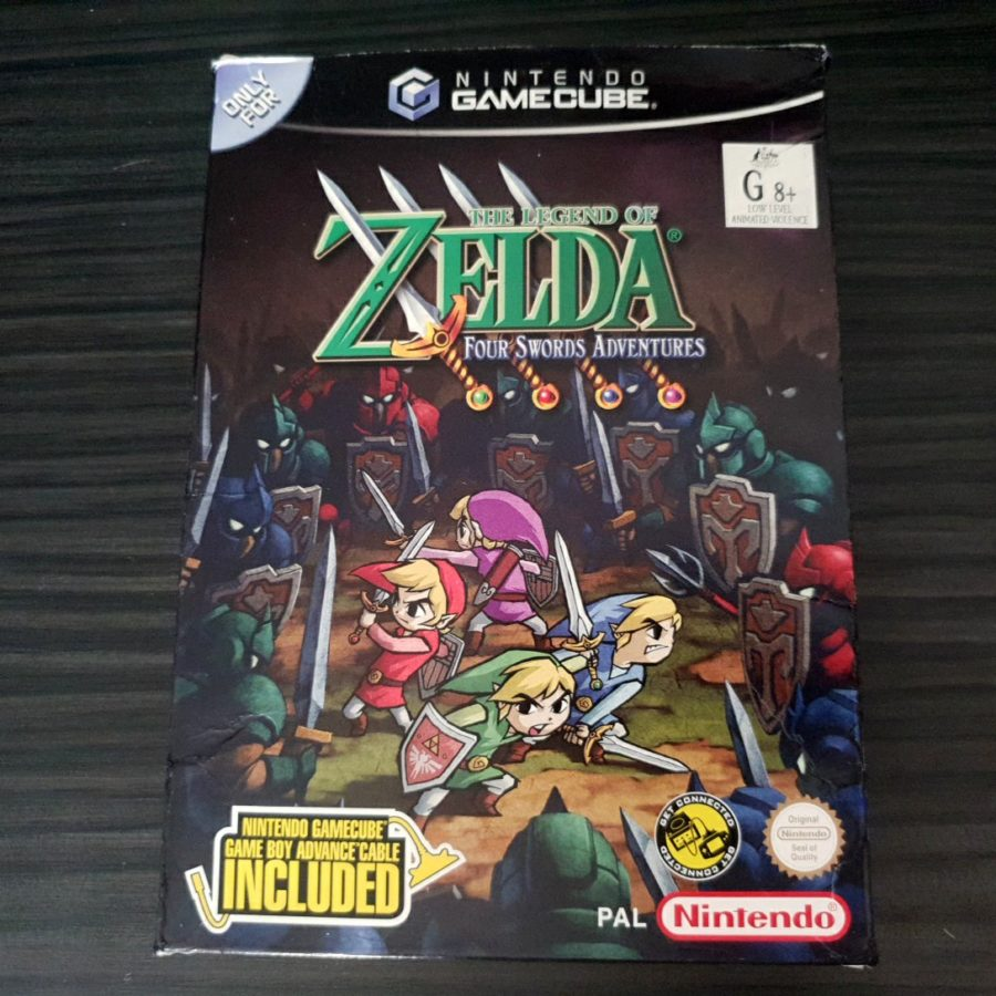 The Legend of Zelda Four Sword Adventures Big Box GameCube Australia