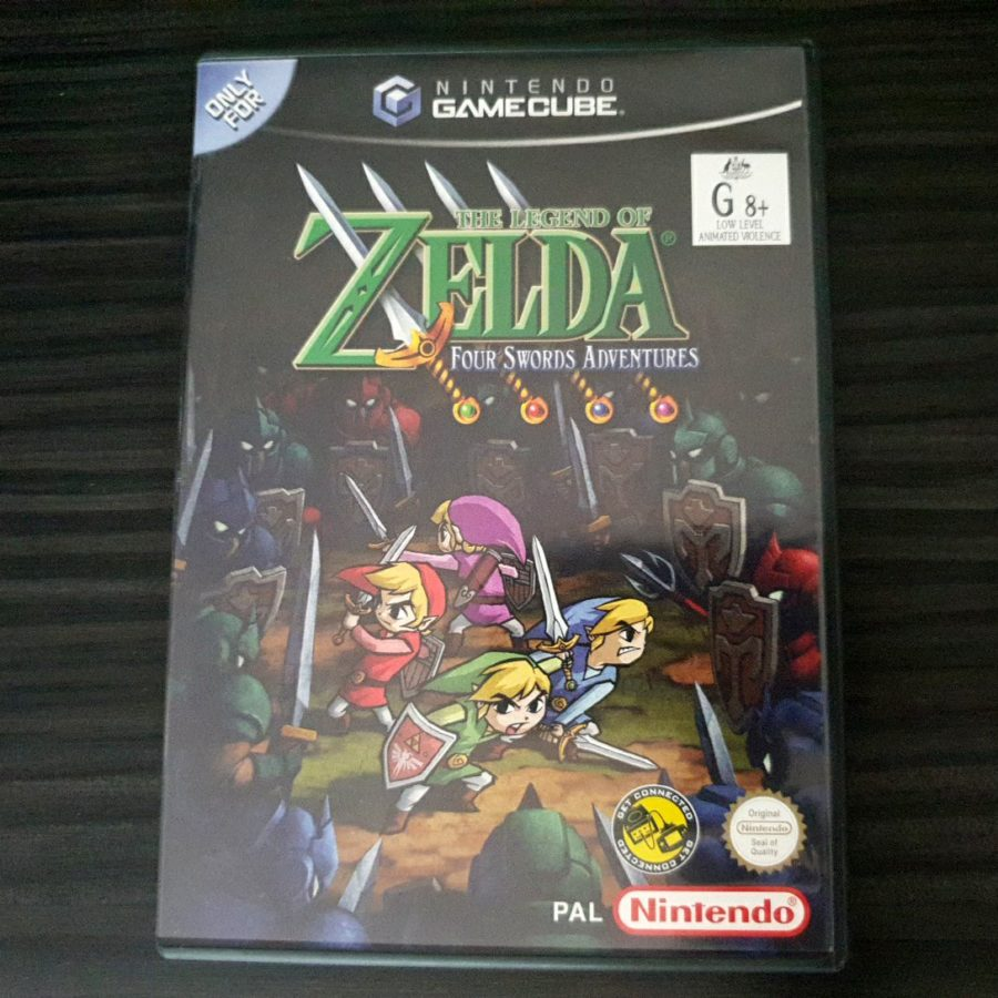 The Legend of Zelda Four Sword Adventures GameCube Australia
