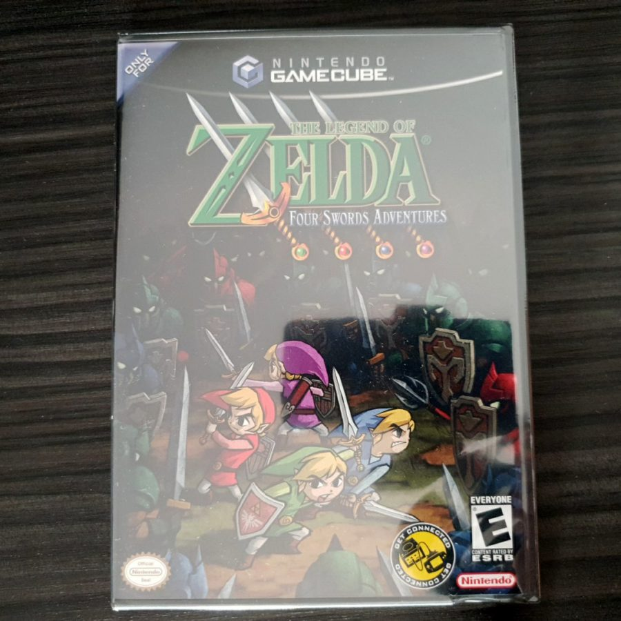 The Legend of Zelda Four Sword Adventures GameCube Big Box Canada
