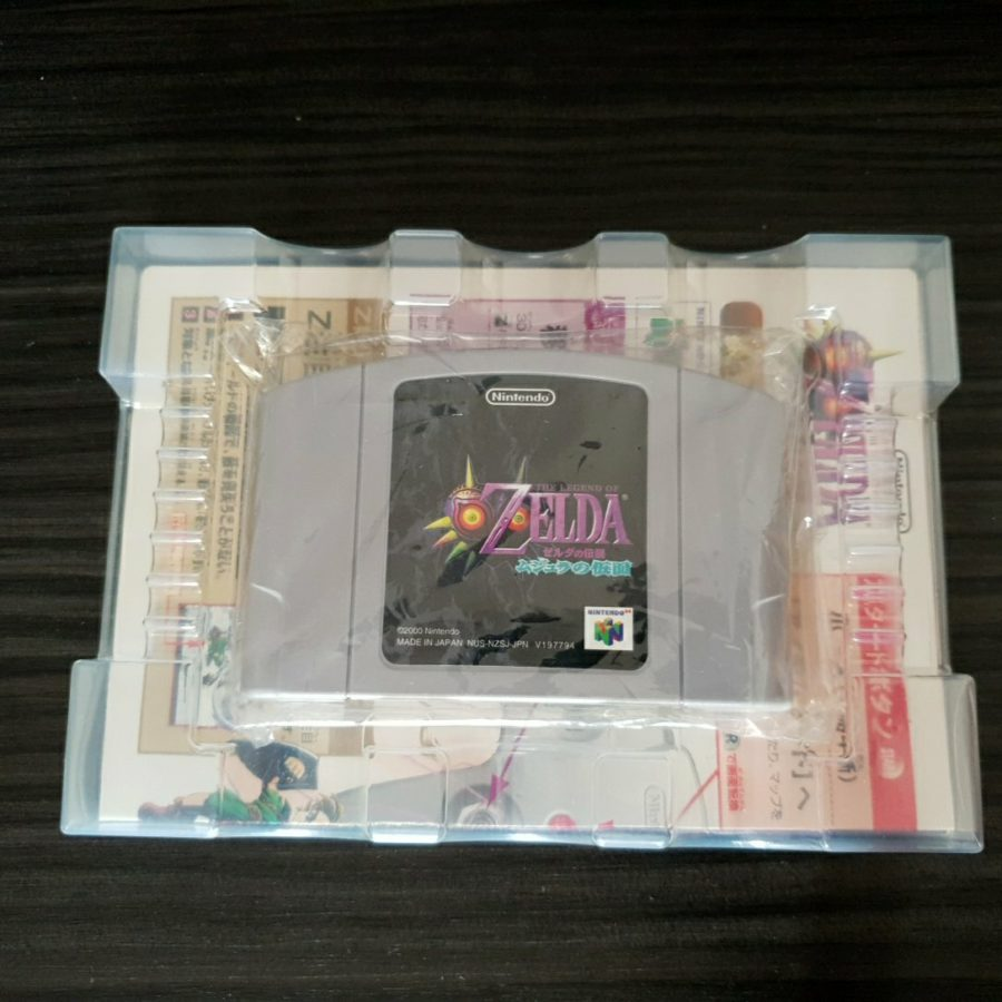 The Legend of Zelda Majora\'s Mask Nintendo 64 Japan