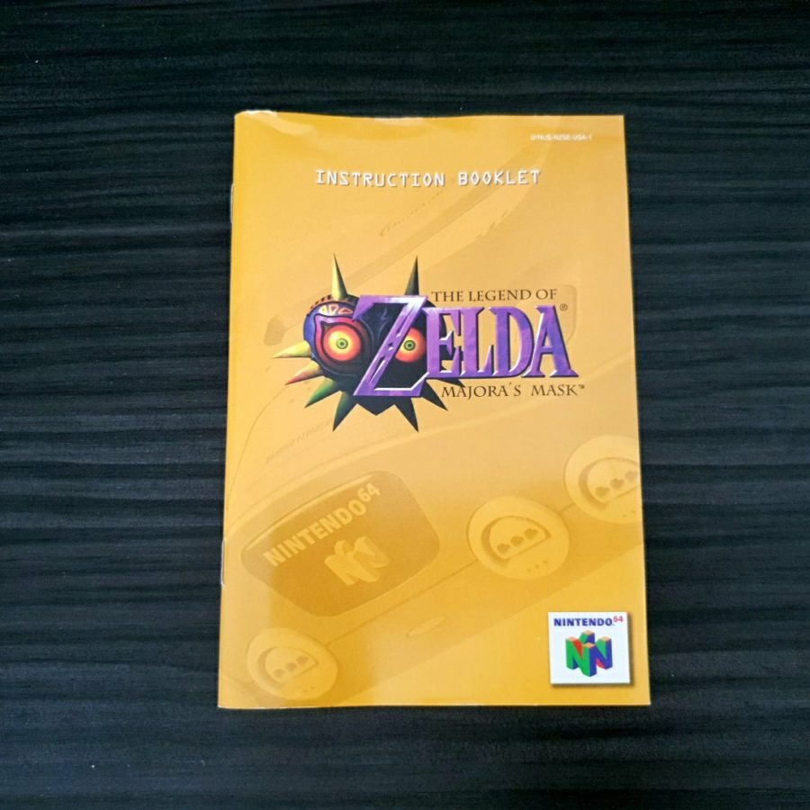The Legend of Zelda Majora\'s Mask Nintendo 64 USA