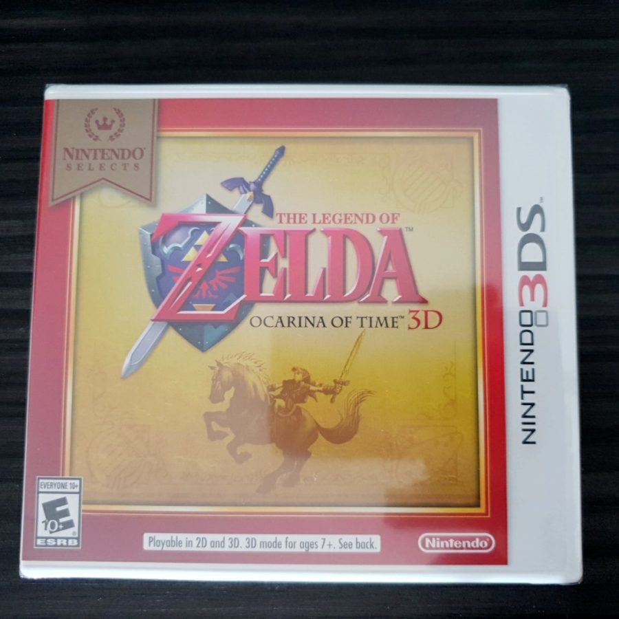 The Legend of Zelda Ocarina of Time 3D 3DS Nintendo Selects USA