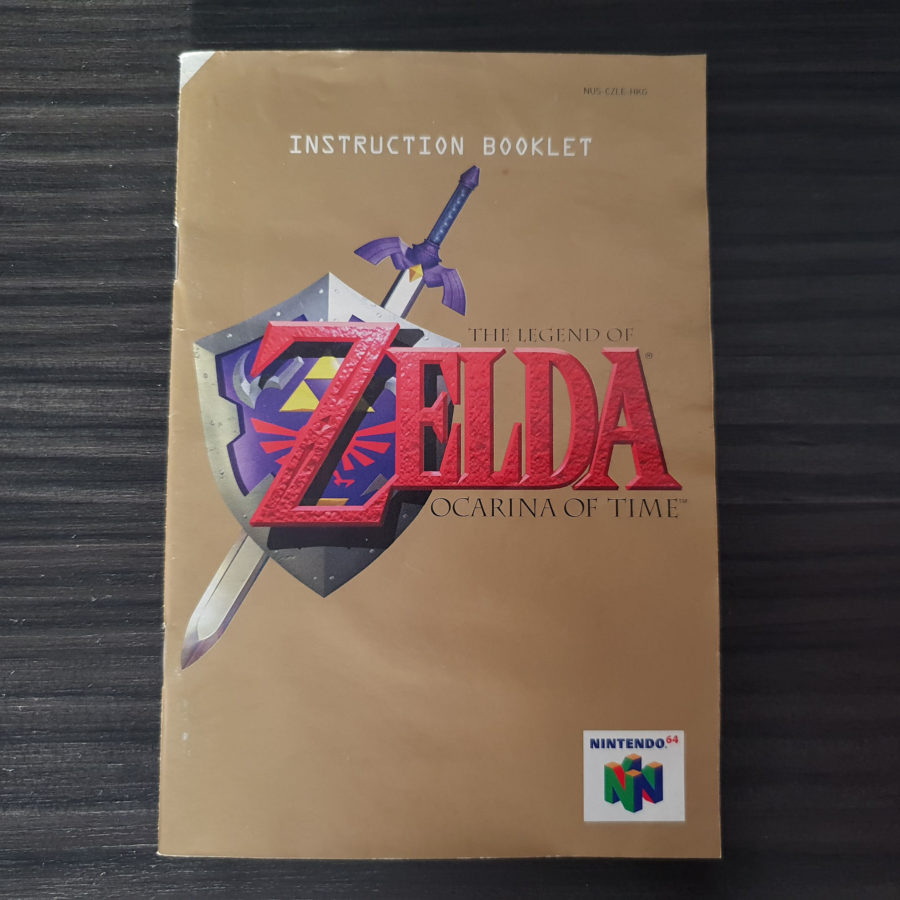 The Legend of Zelda Ocarina of Time Nintendo 64 For Taiwan Only (6)