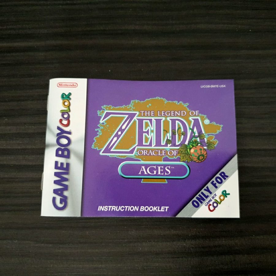 The Legend of Zelda Oracle of Ages USA 1 Version
