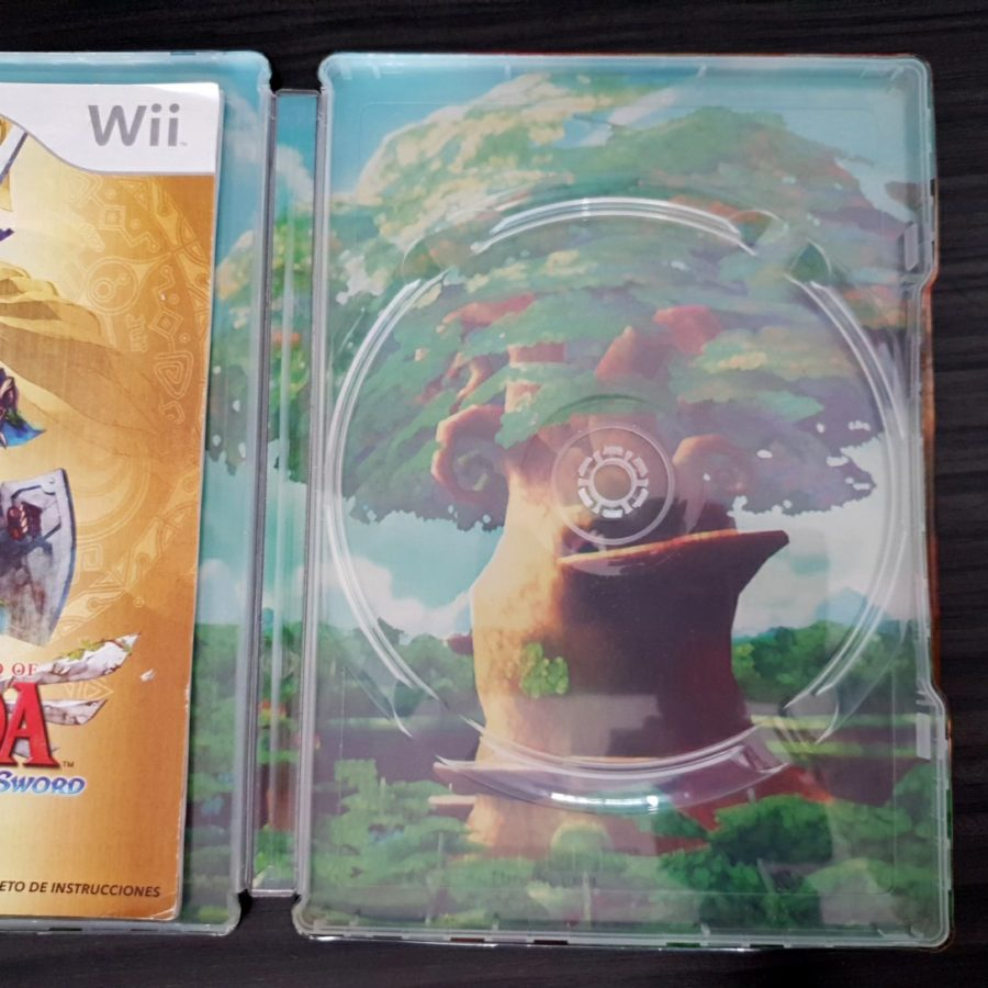 The Legend of Zelda Skywar Sword Canada SteelBook Wii