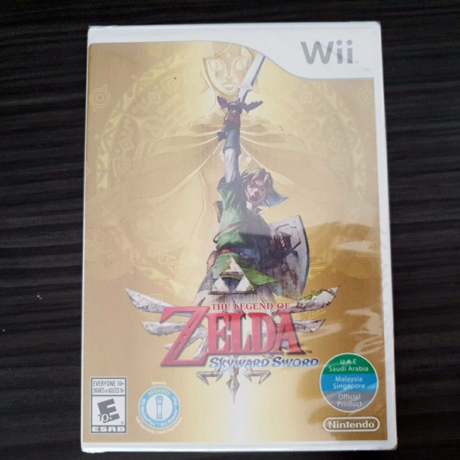 The Legend of Zelda Skywar Sword Saudi Arabia Wii UAE