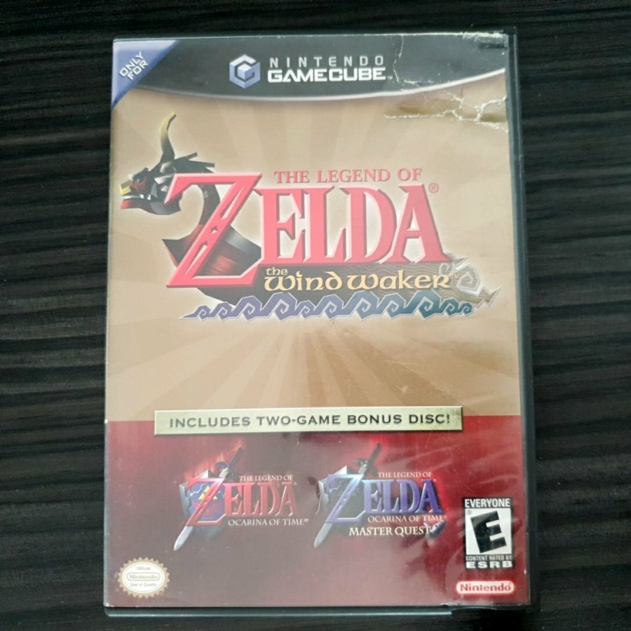 The Legend of Zelda The Wind Waker + Ocarina of Time USA