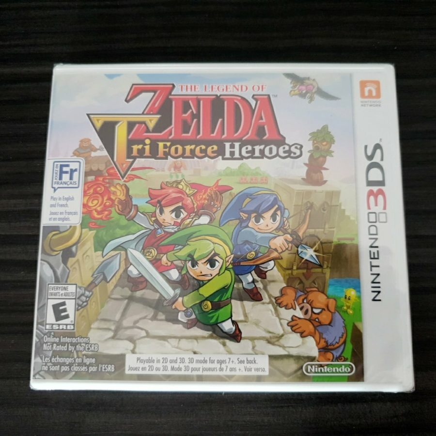 The Legend of Zelda Tri Force Heroes 3DS Canada