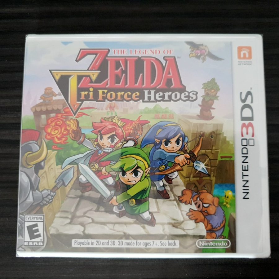The Legend of Zelda Tri Force Heroes 3DS USA