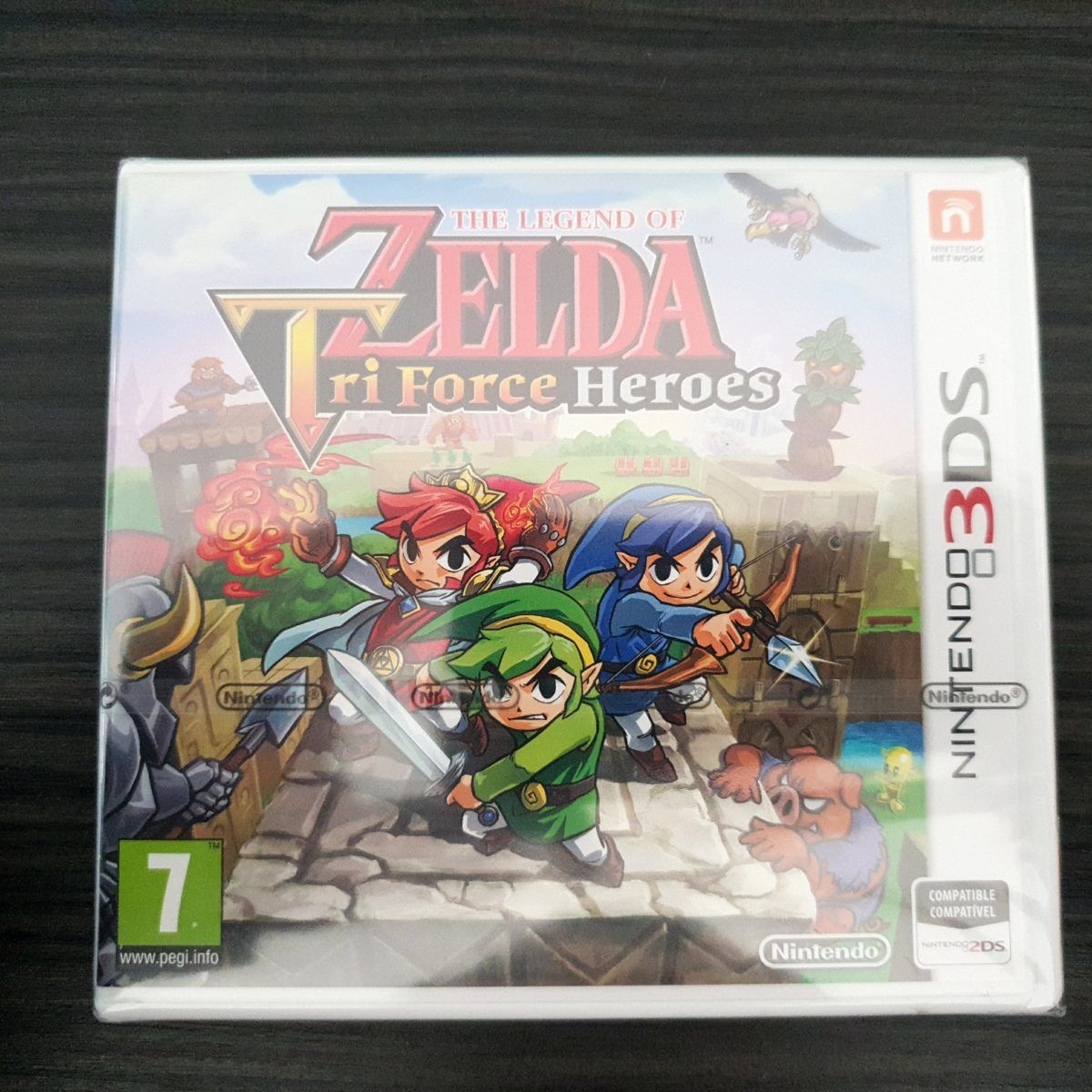The Legend of Zelda Tri Force Heroes Spain