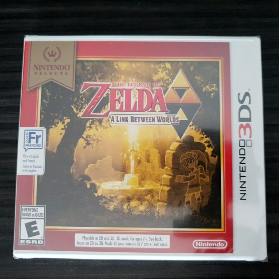 The Legend of Zelda a Link Between Worlds Canada Selets 3DS