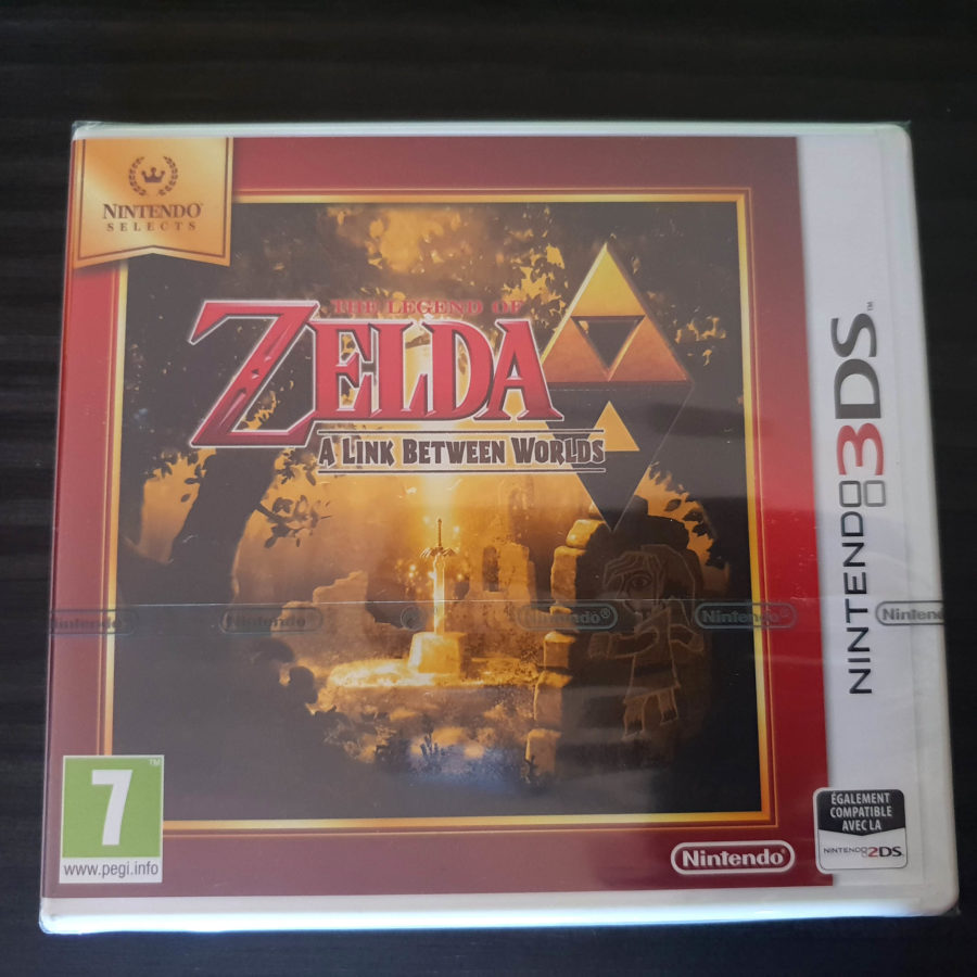 The Legend of Zelda A Link Between Worlds Selects France
