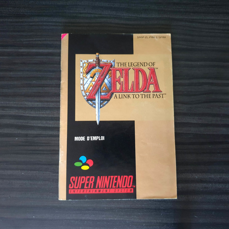 The Legend of Zelda A Link To The Past Super Nintendo SNES France