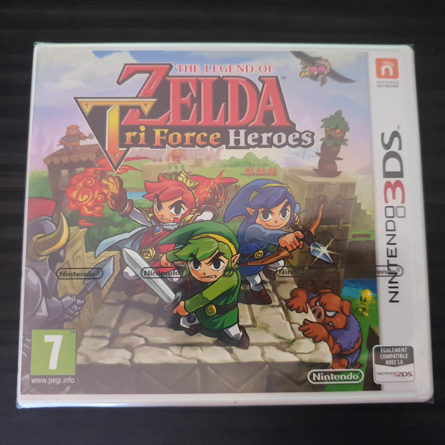 The Legend of Zelda Tri Force Heroes France
