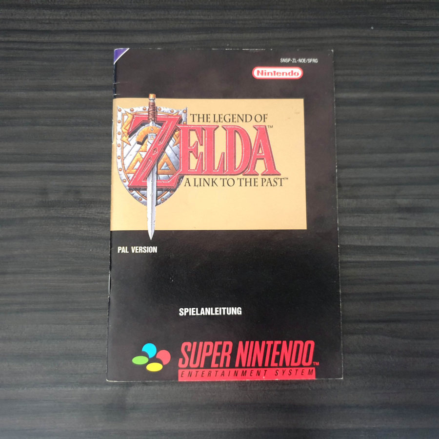 The Legend of Zelda a Link to The Past SNES Germany Classics (4)