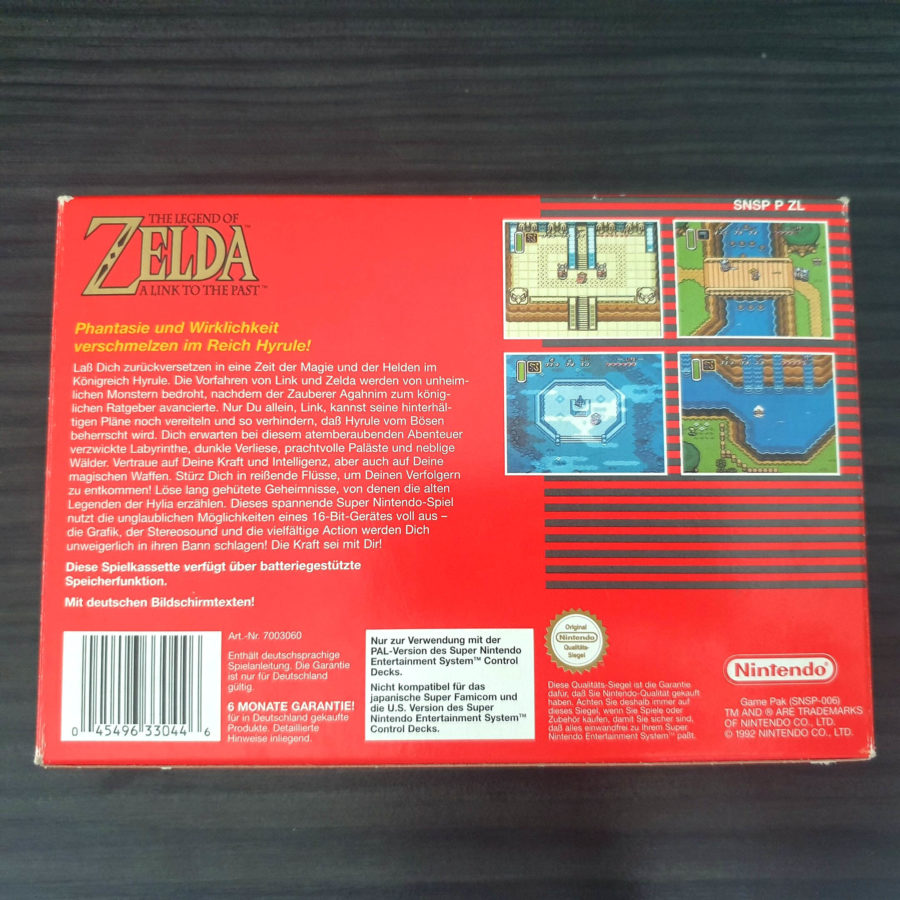 The Legend of Zelda a Link to The Past SNES Germany Classics (6)