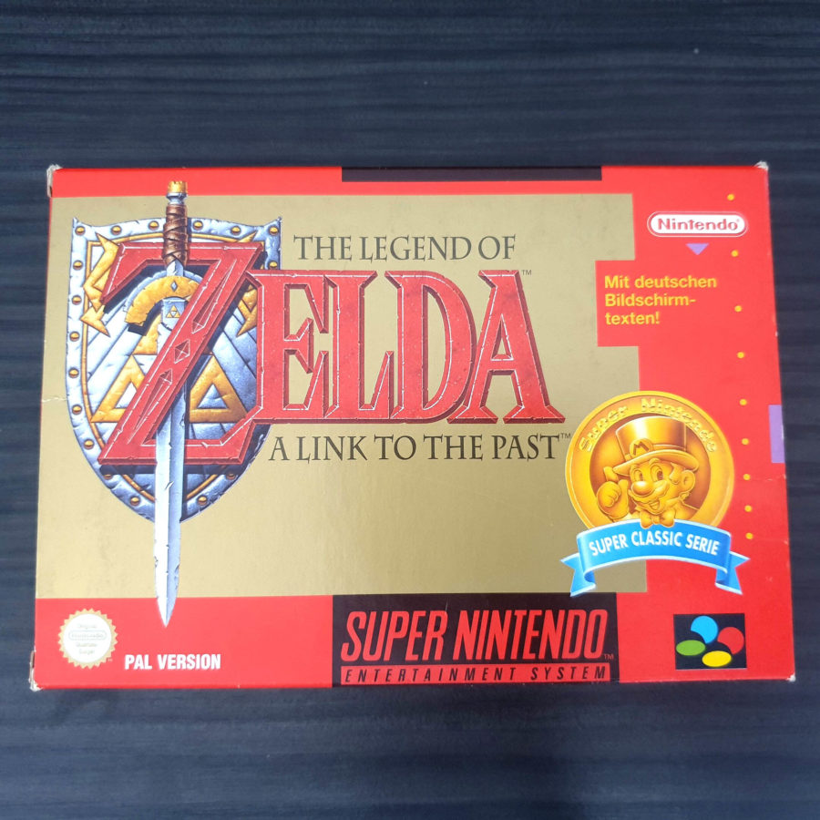 The Legend of Zelda a Link to The Past SNES Germany Classics (7)