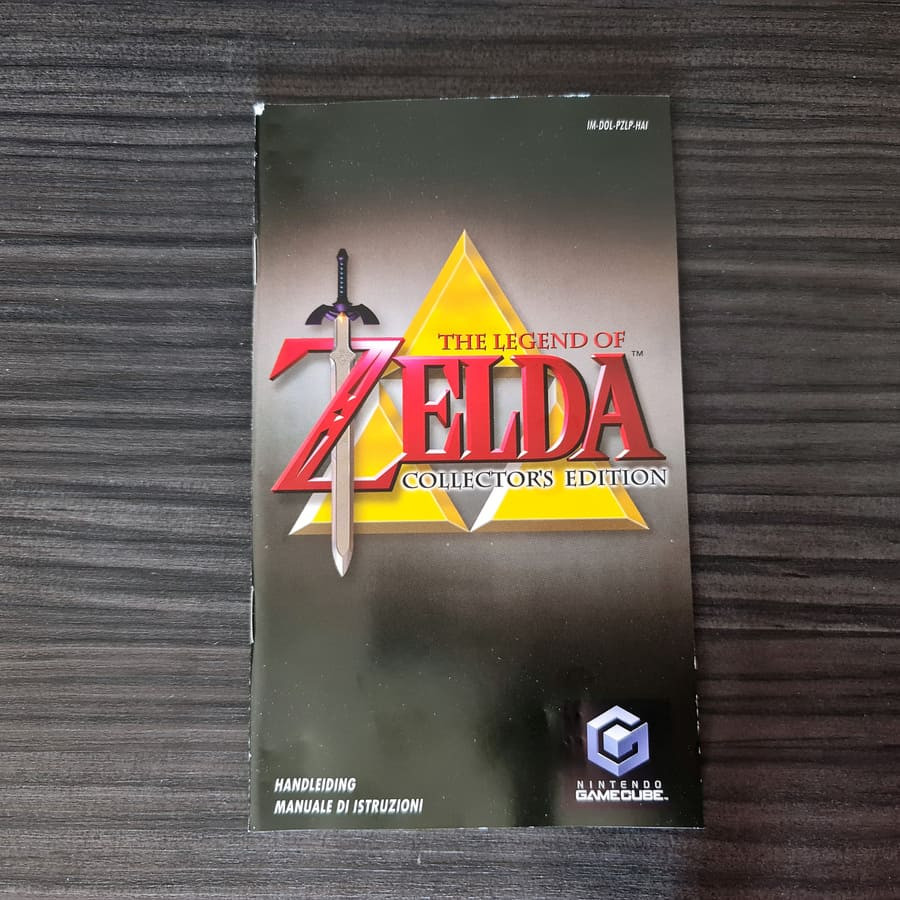 The Legend of Zelda Collectors Edition Gamecube Italy Blue