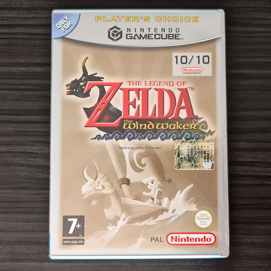 The Legend of Zelda - The Wind Waker GameCube Italy - Players Choice