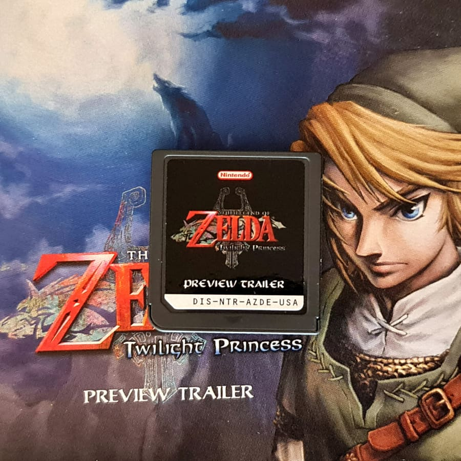 The Legend of Zelda Twilight Princess Preview Trailer E3 - Nintendo DS
