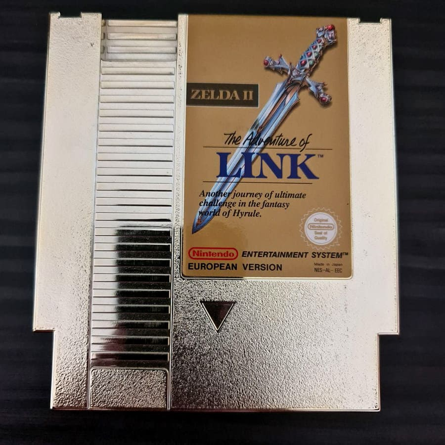 Zelda 2 - The Adventure of Link NES European Version Small Box